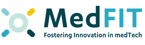 medfit logo pdf presentation brief elevator speech Spartha Medical Device Strasbourg Alsace Innovation startup Coatings Antimicrobial Anti-inflammatory Personalised Implants Nosocomial Infections Antibiotic substitutes peri-implantitis infected wound care hospital surgery